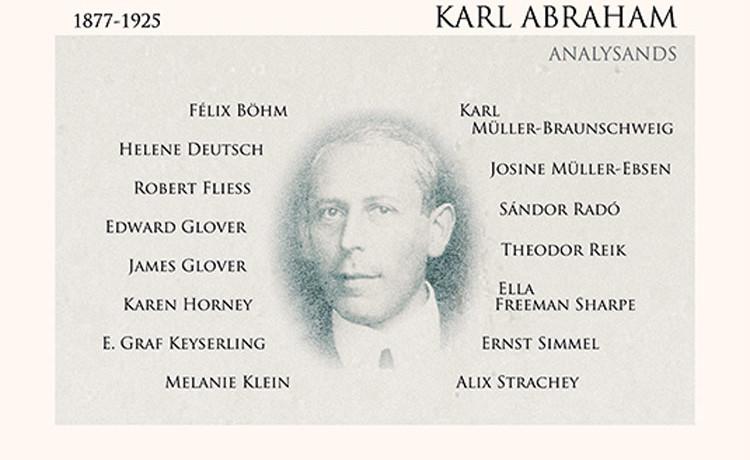 Karl Abraham (1877-1925). Freuds rots in de branding.